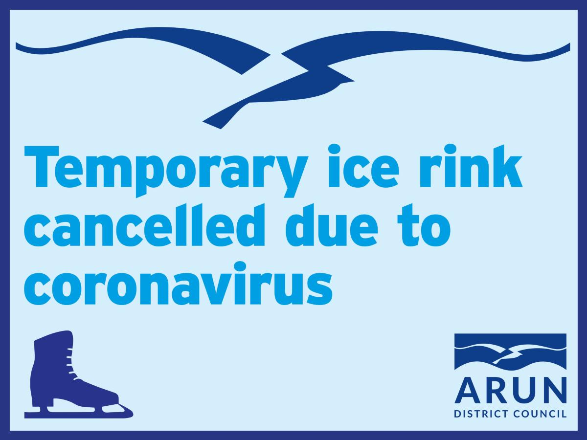Temporary ice rink cancelled due to coronavirus